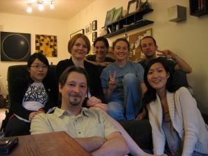 genomic imprinting Night 3 (giN3) - May 2008 Lina Jew, Louis Lefebvre, Rachel Elves, Meg Jones, Julie MacIsaac, Aaron Bogutz, Rose Oh-McGinnis